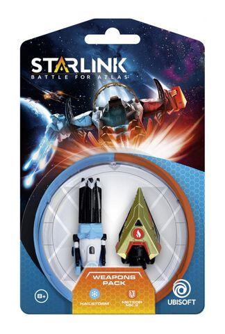 Figurine Starlink Pack d'Armes Hail Storm + Meteor Toys