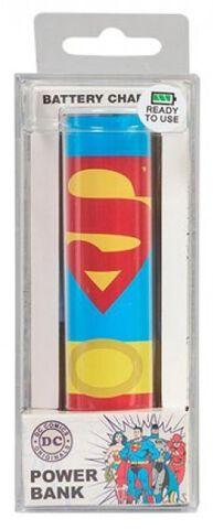 Power Bank - DC Originals - Superman 2600mah Personnalisable