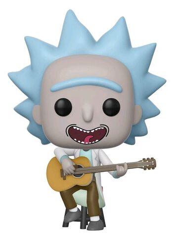 Figurine Funko Pop! N°489 - Rick et Morty - Petit Rick avec guitare