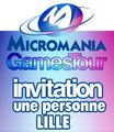 Micromania Games Tour : 1 Place Mgt Lille 10 Octobre 2012