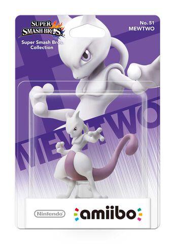 Figurine Amiibo N°51 Smash Mewtwo