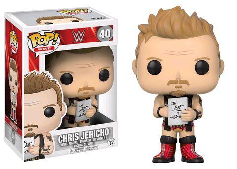 Figurine Funko Pop! N°40 - WWE - Jericho Old School