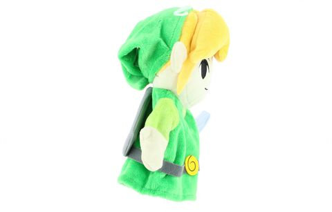 Marionnette Peluche - Zelda - Link - Exclusivité Micromania-Zing
