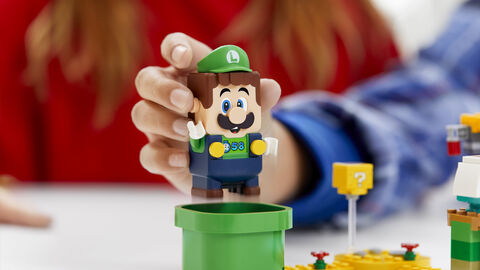 Précommande Lego Super Mario pack démarrage Luigi