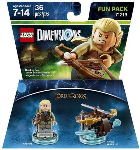 Figurine Lego Dimensions Legolas Le Seigneur Des Anneaux