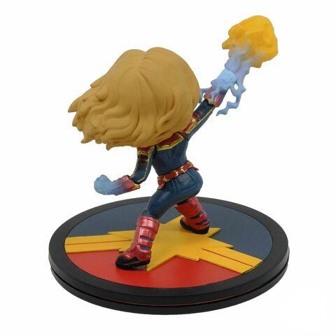 Statuette Quantum Mechanix - Marvel - Q-fig Captain Marvel 9 cm