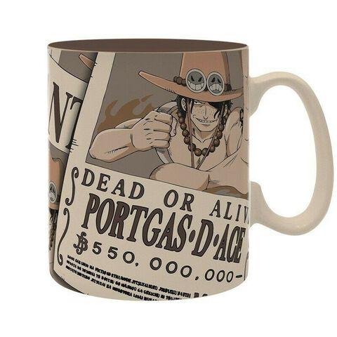 Mug - One Piece - Wanted Ace 460 ml