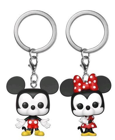 Porte-clés - Disney - Twin Pack Mickey et Minnie