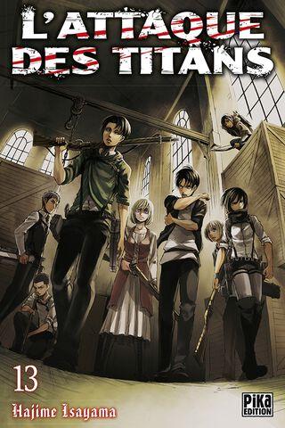 Manga - L'attaque des Titans - Tome 13