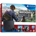 Pack PS4 Slim 1 To + Watch_Dogs 2 + Watch_Dog (voucher)