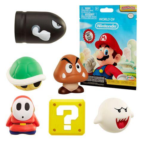 Figurine antistress - Mario - Squish-dee-lish - Assortiment