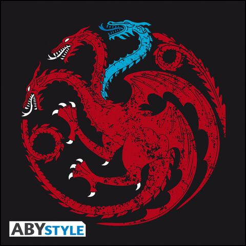 T-shirt - Game of Thrones - Targaryen Viserion Femme - Taille S