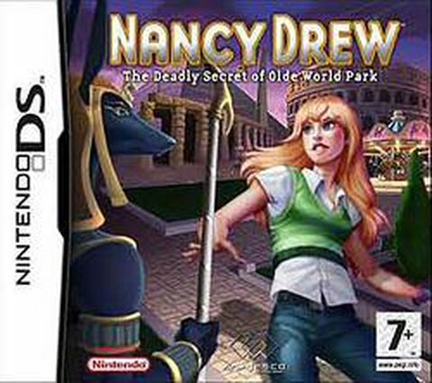 Nancy Drew, And The Deadly Secret Of Olde World Park