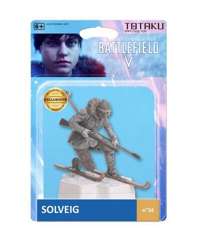 Figurine Totaku N°34 - Battlefield V - Solveig - Exclusivité Micromania-Zing