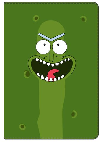 Portefeuille - Rick et Morty - Vertical Pickle Rick