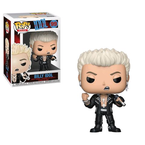Figurine Funko Pop! N°99 - Rock - Billy Idol