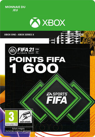 FIFA 21 - Xbox One- Series - FIFA Ultimate Team - 1600 Pts
