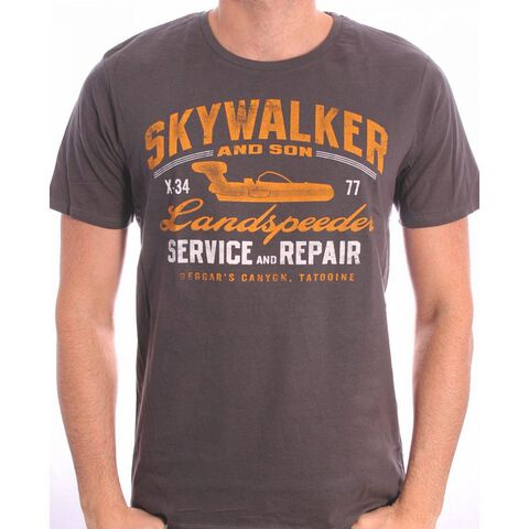 T-shirt - Star Wars - Skywalker Landspeeder Repair - Taille M