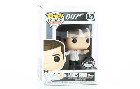 Figurine Toy Pop N°525 - James Bond - Roger Moore (white Tux)