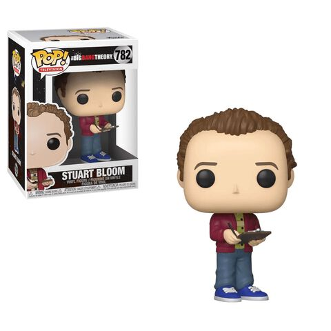 Figurine Funko Pop! N°782 - The Big Bang Theory - S2 Stuart Bloom