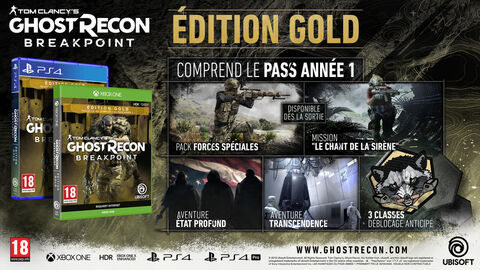 Ghost Recon Breakpoint Edition Gold