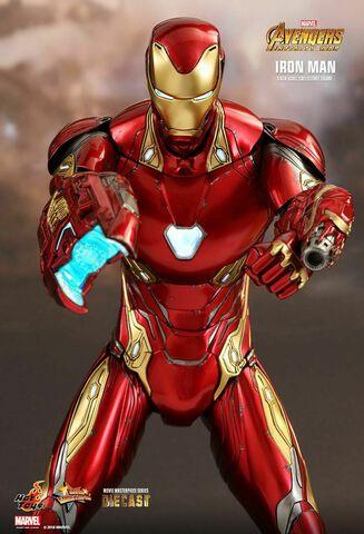 Figurine Hot Toys - Avengers Infinity War - Iron Man 1/6