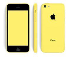 Iphone 5c 16gb Bouygues Jaune / Bon Etat