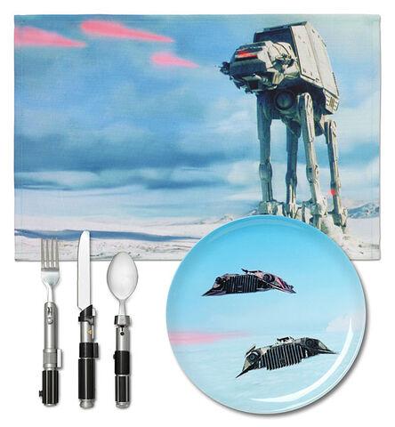 Set de vaisselle - Star Wars - Vaisseaux sur Hoth - Exclusif Micromania - GameStop