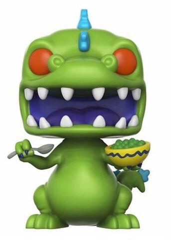 Figurine Funko Pop! N°227 - Les Razmoket - Reptar Avec Boîte De Céréales