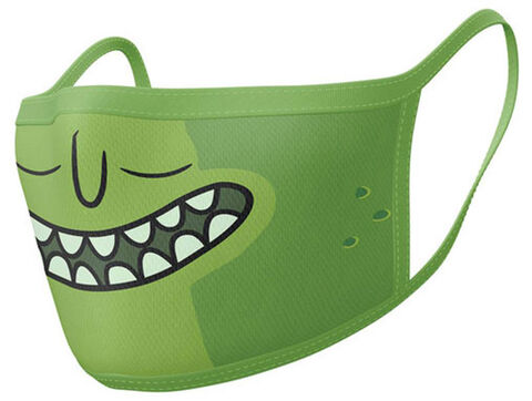 Masque Vert - Rick And Morty - Lot De 2