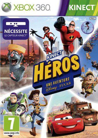 Kinect Héros : Une Aventure Disney Pixar (kinect)