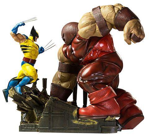 Diorama Iron Studios - Marvel Comics - Wolverine vs Fléau 44 cm
