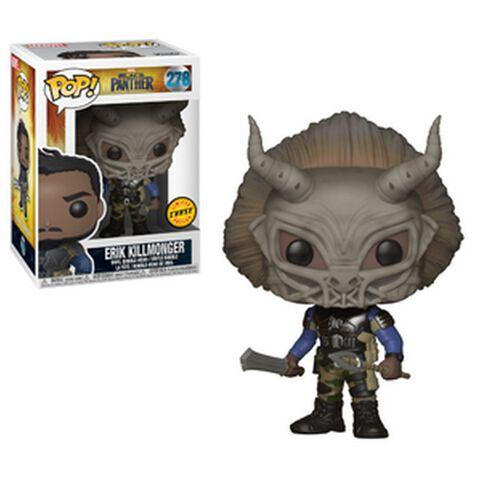 Figurine Funko Pop! N°278 - Black Panther - Killmonger (c)