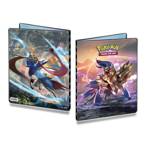 Cahier Range Cartes Pokemon Epee Et Bouclier 252c Pokemon