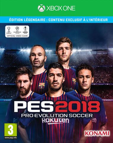 Pro Evolution Soccer 2018 Edition Légendaire (exclusivite Micromania)