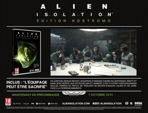 Alien Isolation - Edition Nostromo