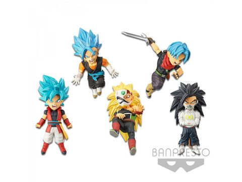 Figurine Wcf - Dragon Ball Super - Heroes World Collectable - Vol 4
