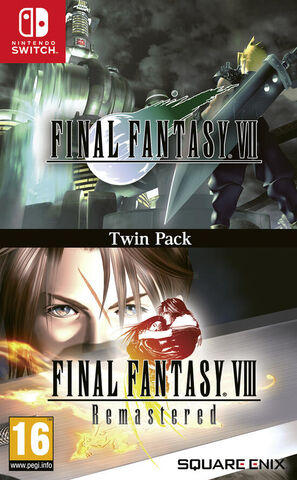 Final Fantasy VII & VIII Double Pack