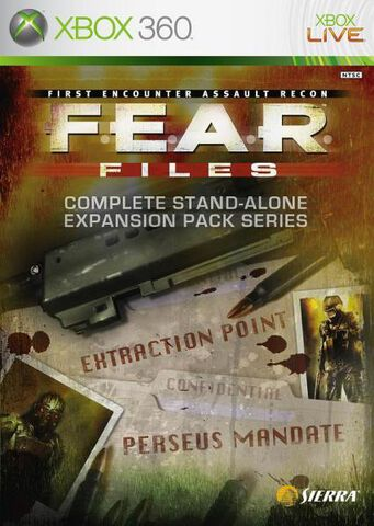 F.e.a.r Files (extraction Point + Perseus Mandate)