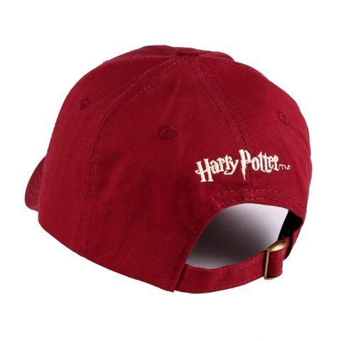 Casquette - Harry Potter 9 - 3/4 logo bordeaux - Taille unique