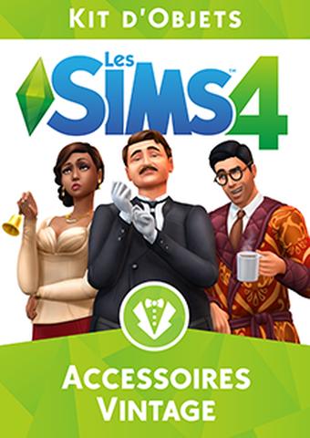 Les Sims 4 : DLC kit d'objets accessoires vintage
