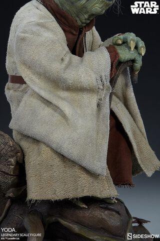 Statuette Sideshow - Star Wars - Legendary Scale Yoda 1/2