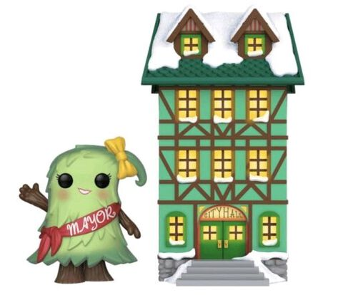 Figurine Funko Pop! N°02 - Holiday - Town Hall Mayor Patty Noble