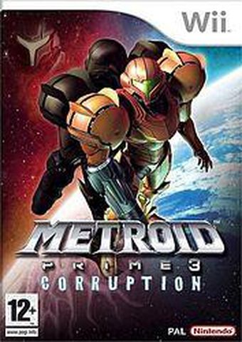 Metroid Prime 3 Corruption