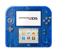 Nintendo 2ds Bleu Transparent -