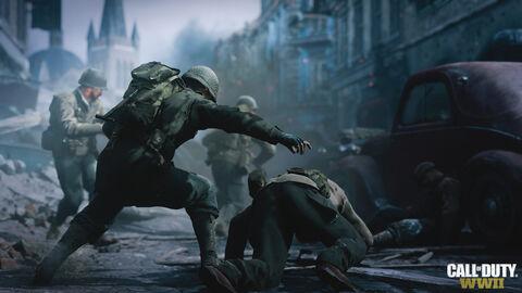 Pack Ps4 1 To Camo Design + Call of Duty WWII + Qui Es-tu? (voucher)