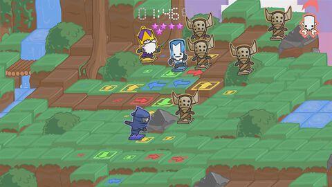 Castle Crashers Digital Xbox 360 à jouer sur Xbox One - Jeu complet - Version digitale