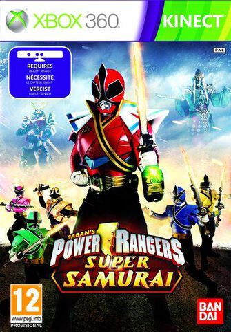 Saban's Power Rangers : Super Samurai (kinect)