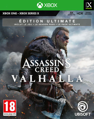 Assassin's Creed Valhalla Edition Ultimate Exclusivite Micromania - Versions Xbox Series et