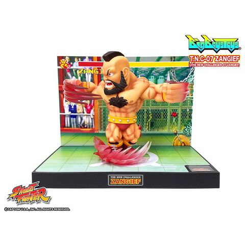 Figurine - Street Fighter - Diorama T.n.c. 07 Zangief